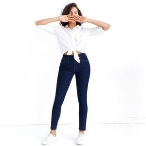 Madewell | Petite Curvy High-Rise Skinny Jeans